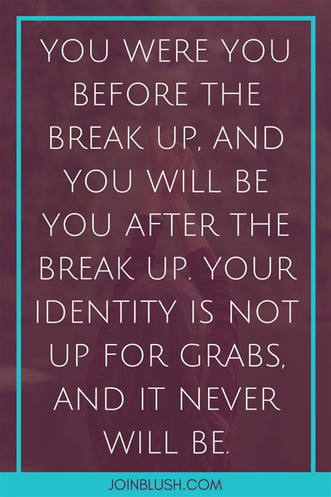 breakup blush breakup advice