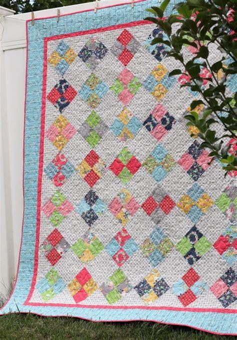 4 patch quilt patterns farmhouse four patch quilt tutorial favequilts