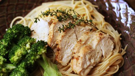 lemon thyme roasted chicken  pasta recipe pbs food
