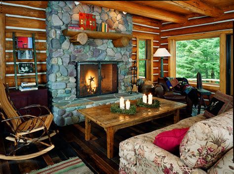 Home Interior : Log Home Interior Design