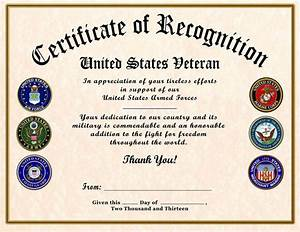 best 25 certificate of appreciation ideas on pinterest With military certificates templates