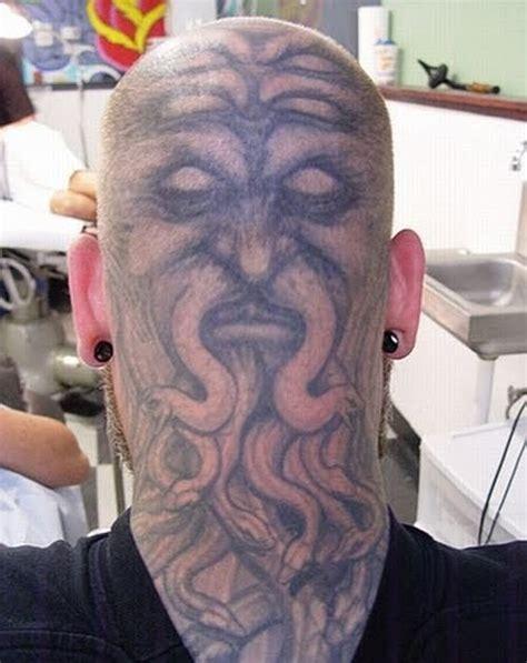 tattoo kepala album  gambar seni tattoo