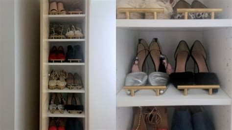 classy tall shoe cabinet  fit small entryways ikea