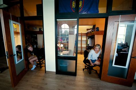 Some Students Embrace Tiny Dorm Rooms