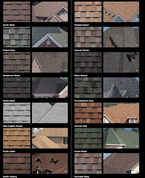 roofing shingles colors tamko shingle colors level 1 general construction llc