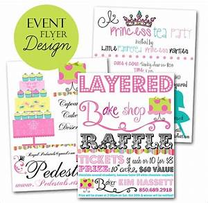 18, Awesome, Raffle, Flyer, Designs