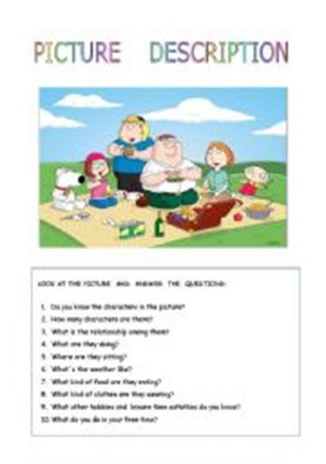 family picnic esl worksheet by sarahkay