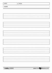 Pautas Para Escribir  Montessori  Cuadr U00edcula