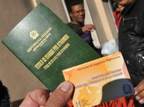 questura ancona ufficio passaporti carta di soggiorno se vado via dall italia me la tolgono