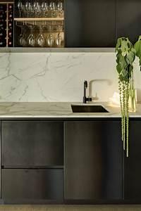 Modern Wet Bar Modern Kitchen Bureaux Limited