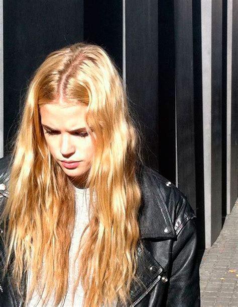coiffure cheveux longs  fins hiver  coiffure