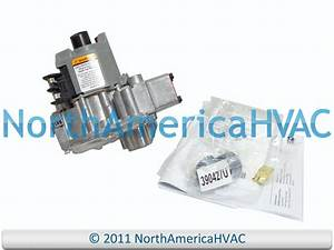 Honeywell Furnace Standing Pilot Gas Valve Vr8300a4045 Vr8300a 4045 Nat  Lp Gas