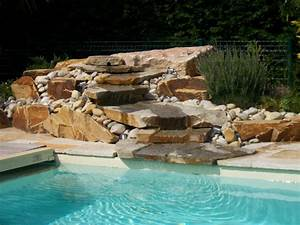 awesome amenager son jardin en pente photos With attractive amenagement autour de la piscine 11 piscine en pente