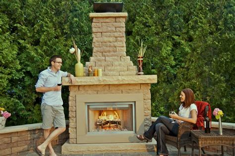 Outdoor Fireplace Kits Cheap Outdoor Fireplace Kits With