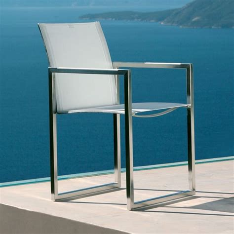 stainless steel outdoor dining chair outdoor dining