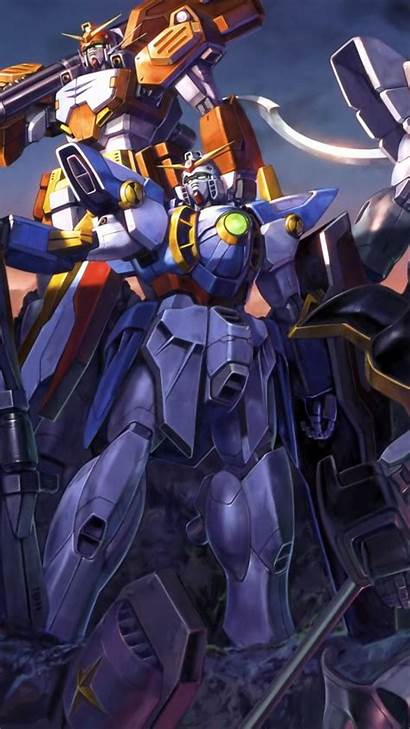 Gundam Anime Iphone Android Wallpapers Background Plus