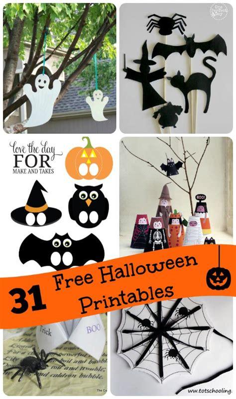 printable halloween games activities