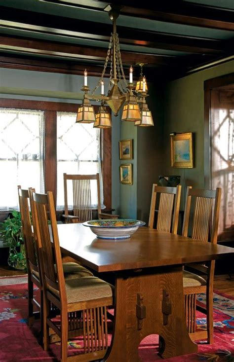 Craftsman Style Dining Room Chandeliers by 237 Best Craftsman Dining Rooms Images On