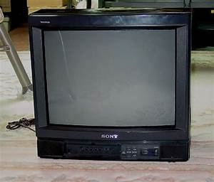 Sony Trinitron Color Tv  Model   Kv