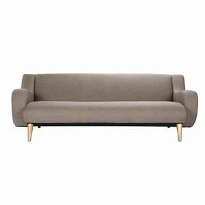 canape stockholm 3 places beige optez pour nos canapes With tapis d entrée avec canapé 3 places tissu beige
