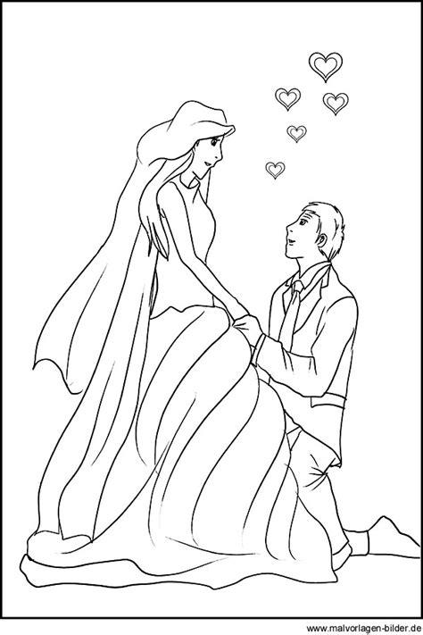 heiratsantrag als gratis malvorlage bildvorlage hochzeit