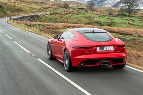 2018 Jaguar F-type With Turbocharged Four-cylinder Engine