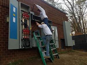 1200 Amp Service With Transfer Switches Nstalled By Nng Standby Generators In Gloucester