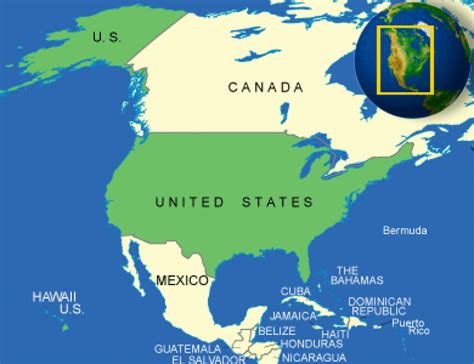Is Geographical Location by Unique United States Facts All About United States
