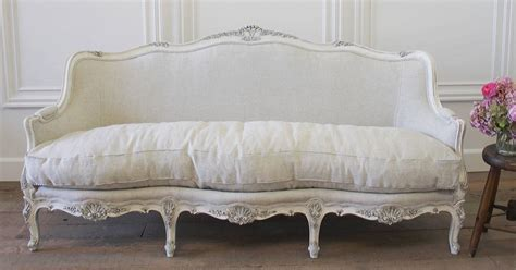 Antique Painted French Sofa In The Louis Xv Style