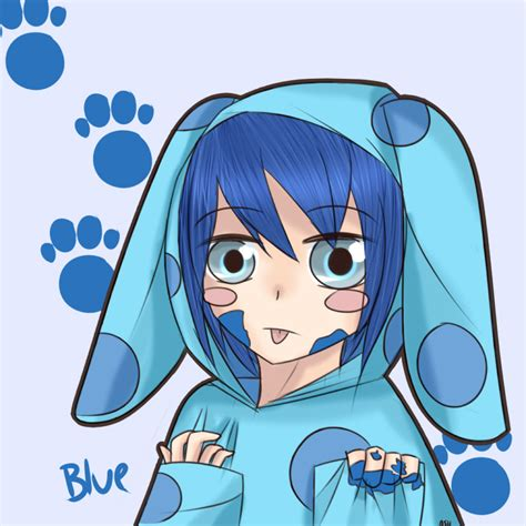 blue s clues by kururu245 on deviantart