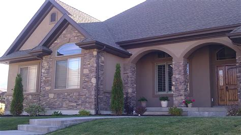 brown stucco homes residential design salem someday