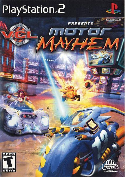 motor mayhem sony playstation  game