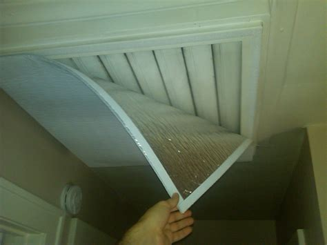 Insulated Cover For Whole House Attic Fan Grate The Diy