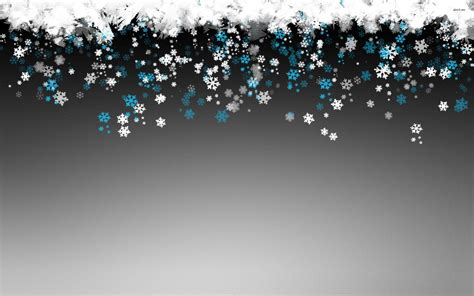 Gray Snowflake Background by Snowflake Wallpapers Wallpaper Cave