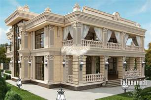 contemporary house plan exterior design villa dubai