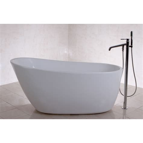 57 Inch Freestanding Tub by Fusion Freestanding 59 Inch Acrylic Bathtub Bedroom