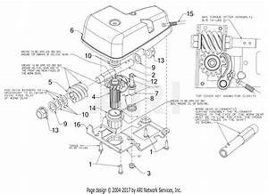 Troy Bilt 31ah5dq8711 Vortex 2890  2016  Parts Diagram For
