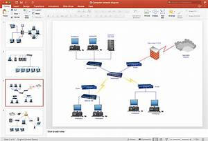 Create Powerpoint Presentation With A Network Diagram