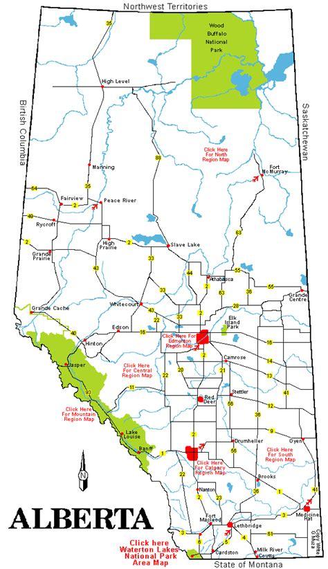 dudo kemol: Detailed Alberta Map