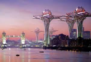 Futuristic Sky City