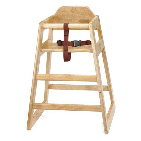 tablecraft 65 26 75 quot stackable high chair w waist