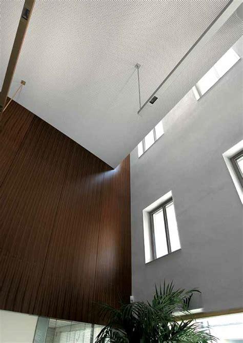 faux plafond acoustique en placo rigitone activ air 174 8 18 by gobain gyproc