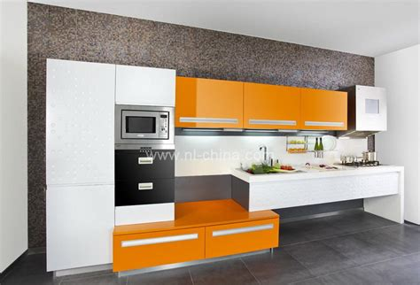 orange kitchen cabinets orange color painting kitchen cabinets kc 1060