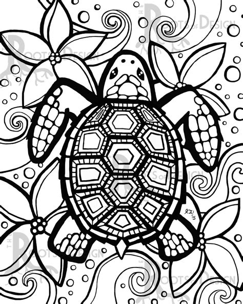 Turtle Coloring Pages Google Search Over The Rainbow