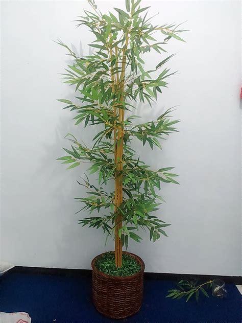 jual bambu hias pohon hias plastik lapak bukalapak