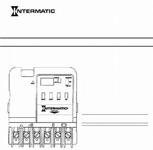 Intermatic Et101c Switch Owner  Installer Instruction