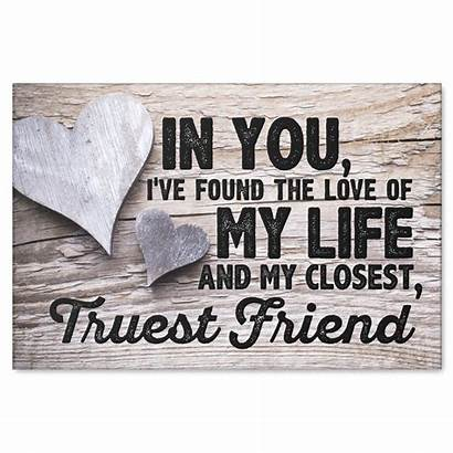 Canvas Premium Friend Quotes Closest Quote Frases