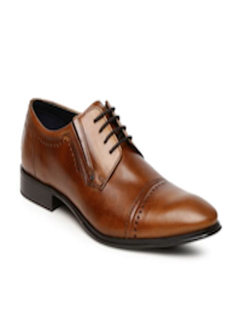 Solid yet flexible sports shoes for the. Buy Bugatti Men Brown Lazzaro Derby Formal Shoes - Formal Shoes for Men 2173060 | Myntra