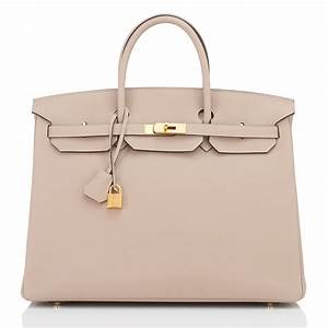 Hermes Birkin Bag 40cm Gris Tourterelle Togo Gold Hardware ...  Hermes