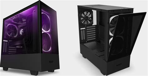 nzxts refreshed mid tower  mini itx cases